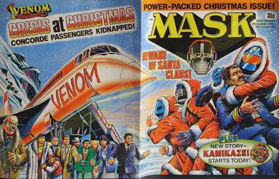 M.A.S.K. M.A.S.K. UK comic No. 05 - 20/10/1986