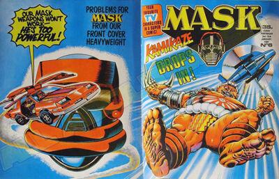 M.A.S.K. M.A.S.K. UK comic No. 06 - 03/01/1987