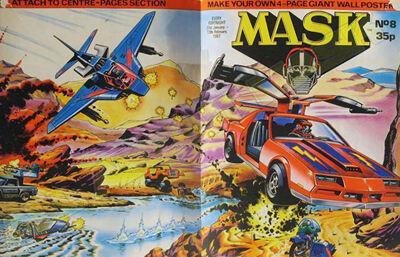 M.A.S.K. M.A.S.K. UK comic No. 08 - 31/01/1987