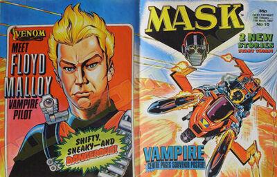M.A.S.K. M.A.S.K. UK comic No. 10 - 28/02/1987