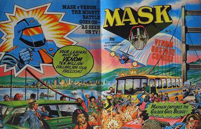M.A.S.K. M.A.S.K. UK comic No. 11 - 14/03/1987