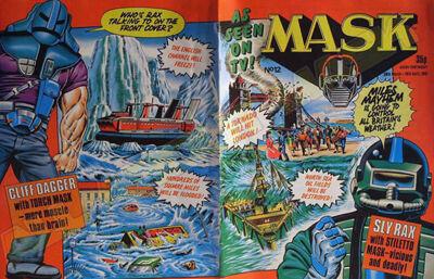 M.A.S.K. M.A.S.K. UK comic No. 12 - 28/03/1987