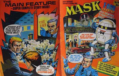 M.A.S.K. M.A.S.K. UK comic No. 14 - 25/04/1987