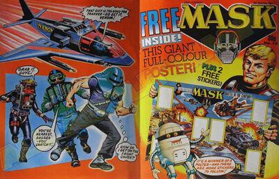 M.A.S.K. M.A.S.K. UK comic No. 15 - 09/05/1987