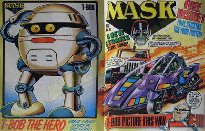 M.A.S.K. M.A.S.K. UK comic No. 17 - 06/06/1987