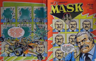 M.A.S.K. M.A.S.K. UK comic No. 19 - 04/07/1987