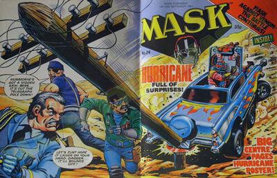 M.A.S.K. M.A.S.K. UK comic No. 24 - 12/09/1987
