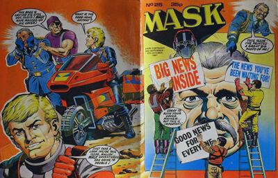 M.A.S.K. M.A.S.K. UK comic No. 25 - 26/09/1987