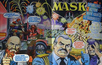 M.A.S.K. M.A.S.K. UK comic No. 29 - 31/10/1987