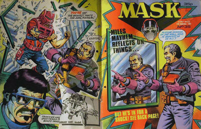 M.A.S.K. M.A.S.K. UK comic No. 35 - 12/12/1987
