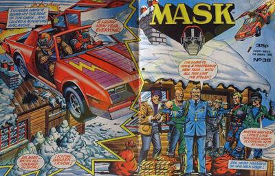 M.A.S.K. M.A.S.K. UK comic No. 38 - 02/01/1988