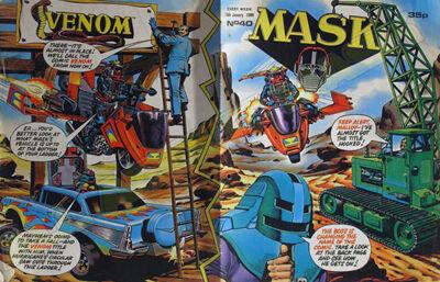M.A.S.K. M.A.S.K. UK comic No. 40 - 16/01/1988