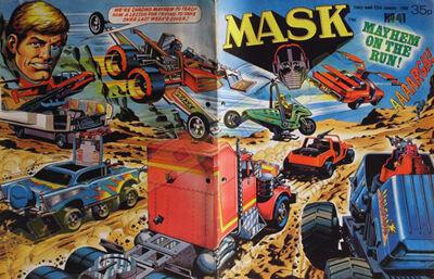 M.A.S.K. M.A.S.K. UK comic No. 41 - 23/01/1988