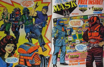 M.A.S.K. M.A.S.K. UK comic No. 53 - 16/04/1988