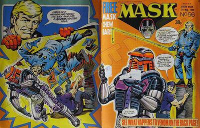 M.A.S.K. M.A.S.K. UK comic No. 56 - 07/05/1988