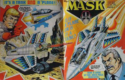 M.A.S.K. M.A.S.K. UK comic No. 61 - 11/06/1988