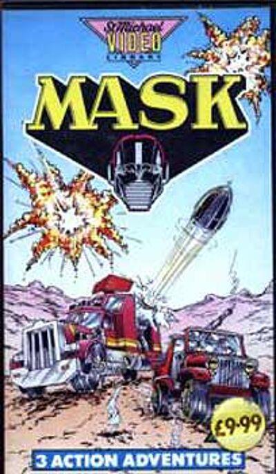 M.A.S.K. M.A.S.K. VHS 3 Action Adventures