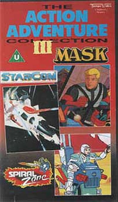 M.A.S.K. M.A.S.K. VHS Action Adventures Collection III incl. Starcom