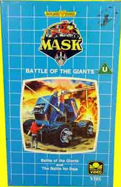 M.A.S.K. M.A.S.K. VHS Battle of the giants