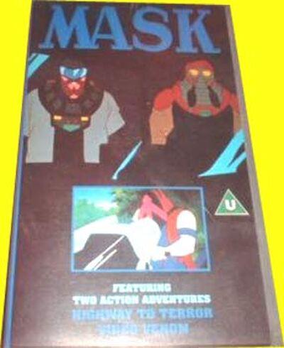 M.A.S.K. M.A.S.K. VHS Highway to terror & Video Venom