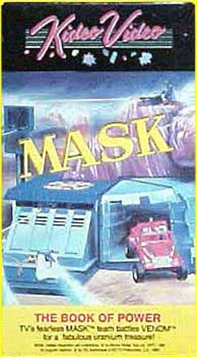 M.A.S.K. M.A.S.K. VHS Kideo Video The book of power