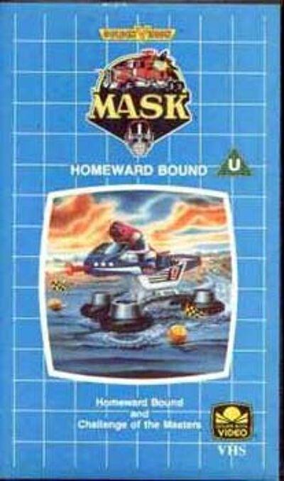 M.A.S.K. M.A.S.K. VHS Homeward bound