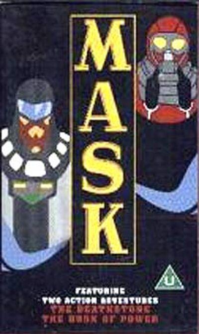 M.A.S.K. M.A.S.K. VHS The deathstone & the book of power