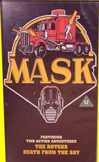M.A.S.K. M.A.S.K. VHS The roteks & death from the sky