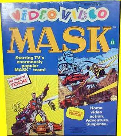 M.A.S.K. M.A.S.K. VHS Video Video Set mit 2 Kasettentwo tape set