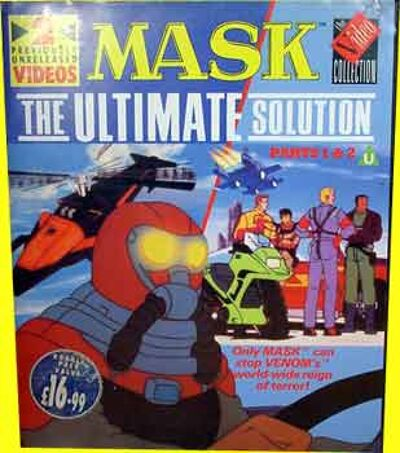 M.A.S.K. M.A.S.K. VHS Set mit 2 Kasettentwo tape set The ultimate solution