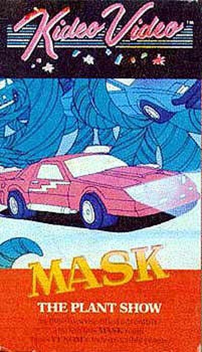 M.A.S.K. M.A.S.K. VHS  Kideo Video The plant show