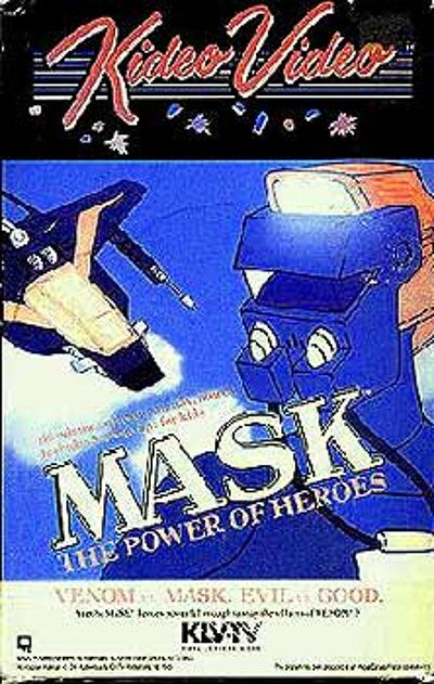 M.A.S.K. M.A.S.K. VHS  Kideo Video The power of heros
