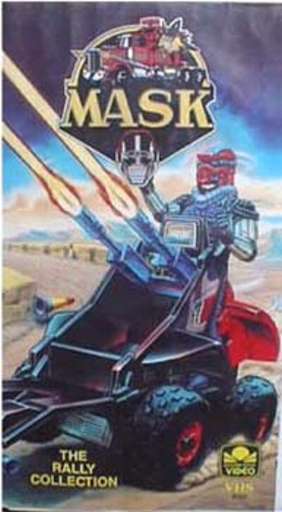 M.A.S.K. M.A.S.K. VHS The rally collection