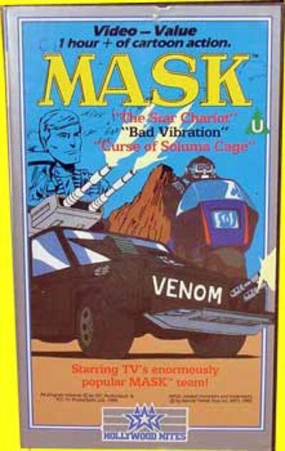 M.A.S.K. M.A.S.K. VHS The star chartiot, bad vibration & curse of soluma cage