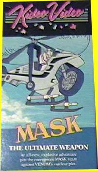 M.A.S.K. M.A.S.K. VHS Kideo Video The ultimate solution