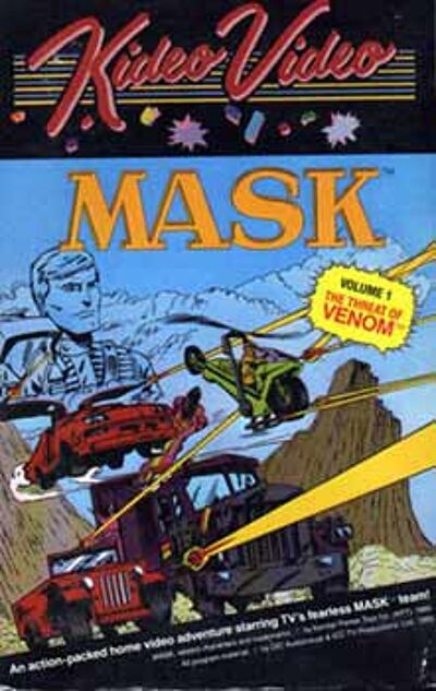 M.A.S.K. M.A.S.K. VHS Kideo Video