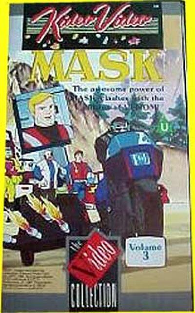 M.A.S.K. M.A.S.K. VHS Kideo Video Volume 3