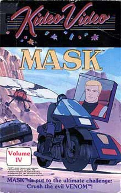 M.A.S.K. M.A.S.K. VHS Kideo Video Volume 4