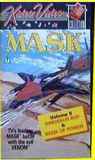 M.A.S.K. M.A.S.K. VHS Kideo Dinosaur boy & Book of power