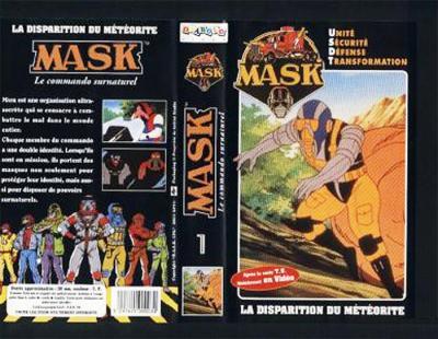 M.A.S.K. M.A.S.K. VHS France black no. 1