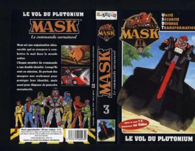 M.A.S.K. M.A.S.K. VHS France black no. 3