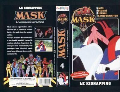 M.A.S.K. M.A.S.K. VHS France black no. 4