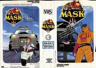 M.A.S.K. M.A.S.K. VHS France white no. 2