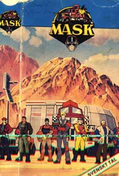 M.A.S.K. M.A.S.K. VHS Sweden