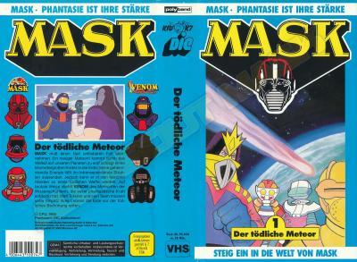M.A.S.K. M.A.S.K. VHS cassette 01 Germany