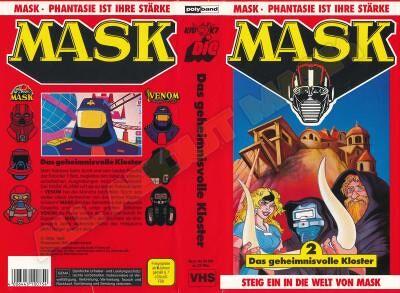 M.A.S.K. M.A.S.K. VHS cassette 02 Germany