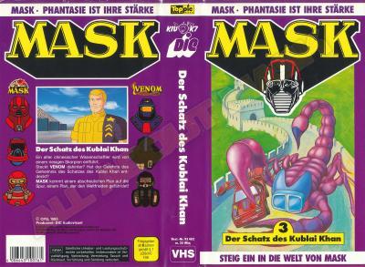 M.A.S.K. M.A.S.K. VHS cassette 03 Germany