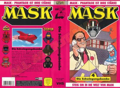 M.A.S.K. M.A.S.K. VHS cassette 04 Germany