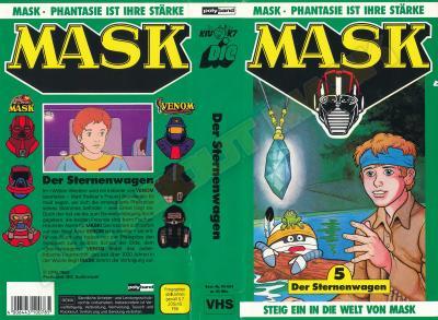 M.A.S.K. M.A.S.K. VHS cassette 05 Germany