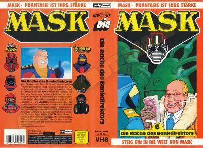 M.A.S.K. M.A.S.K. VHS cassette 06 Germany